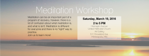 Meditation Workshop cover photo