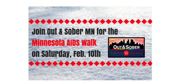 Out & Sober Minnesota MN Aids Walk